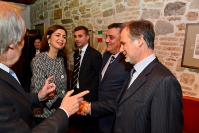 Graditissima visita dell'On. Laura Boldrini alla CNI.